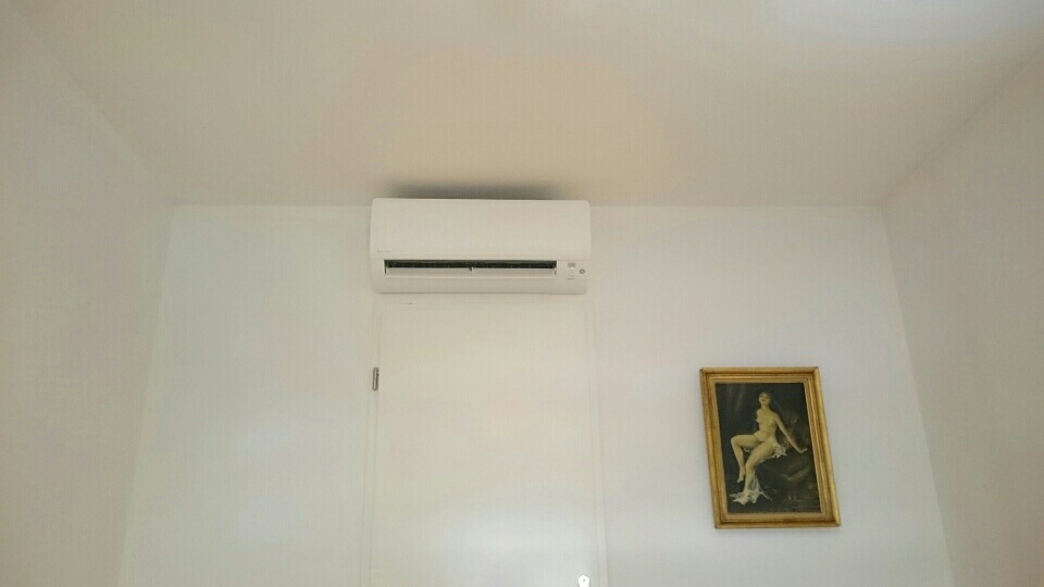 installation clim r versible de 2 chambres maison multi split 2mxs 40 h daikin marseille. Black Bedroom Furniture Sets. Home Design Ideas